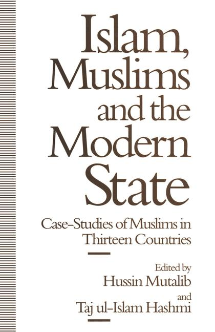 Cover of 'Islam, Muslims and the Modern State'