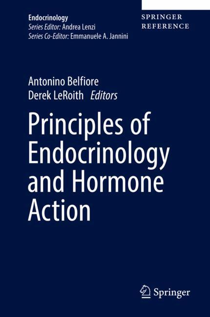 Cover of 'Principles of Endocrinology and Hormone Action'