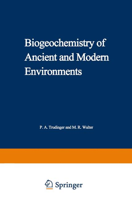 Cover of 'Biogeochemistry of Ancient and Modern Environments'