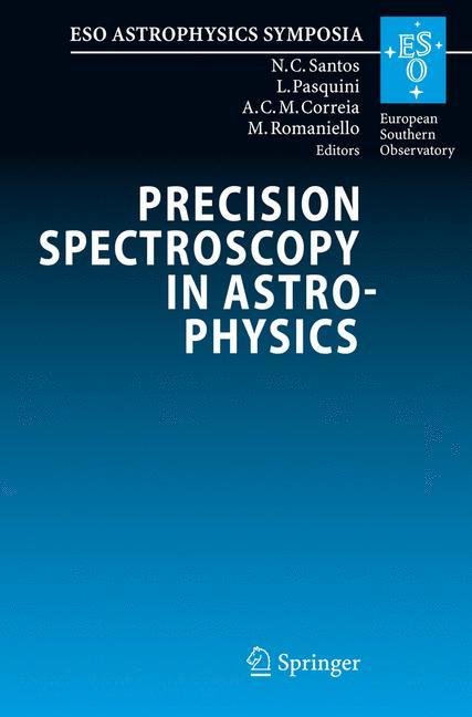 Cover of 'Precision Spectroscopy in Astrophysics'