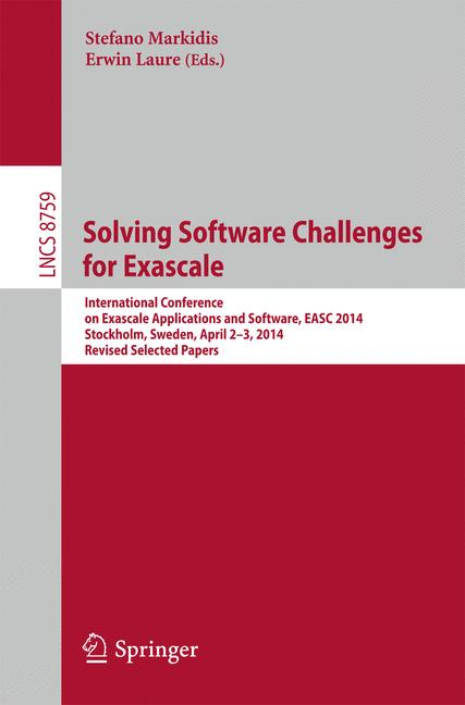 Cover of 'Solving Software Challenges for Exascale'