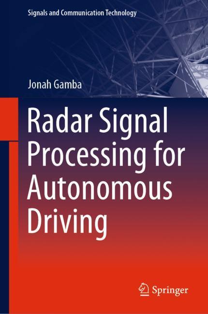Cover of 'Radar Signal Processing for Autonomous Driving'