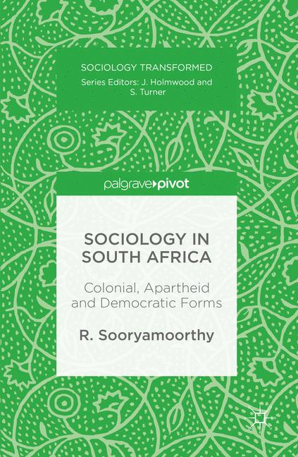 Cover of 'Sociology in South Africa'
