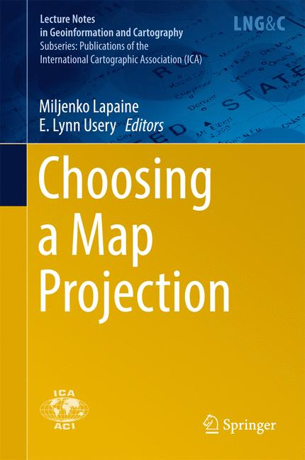 Cover of 'Choosing a Map Projection'