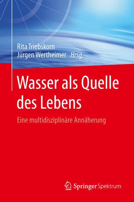 Cover of 'Wasser als Quelle des Lebens'