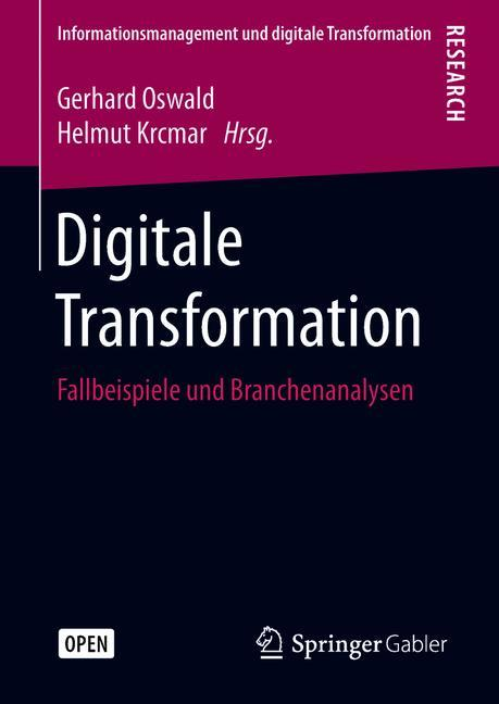 Cover of 'Digitale Transformation'