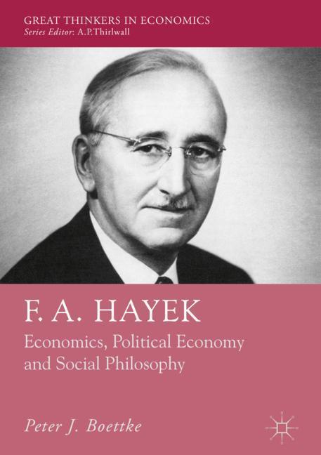 Cover of 'F. A. Hayek'