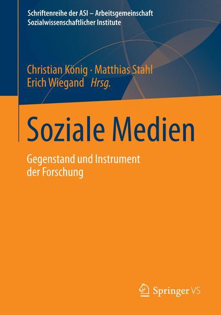 Cover of 'Soziale Medien'