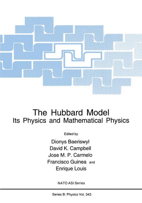 Cover of 'The Hubbard Model : Its Physics and Mathematical Physics'