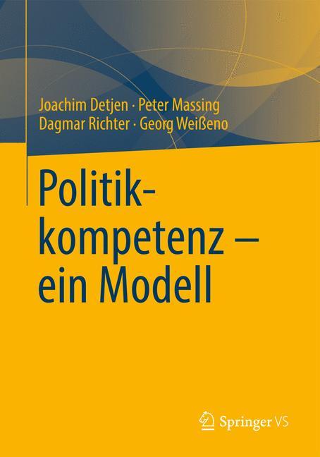 Cover of 'Politikkompetenz – ein Modell'