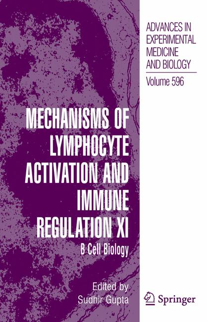 Cover of 'Mechanisms of Lymphocyte Activation and Immune Regulation XI'