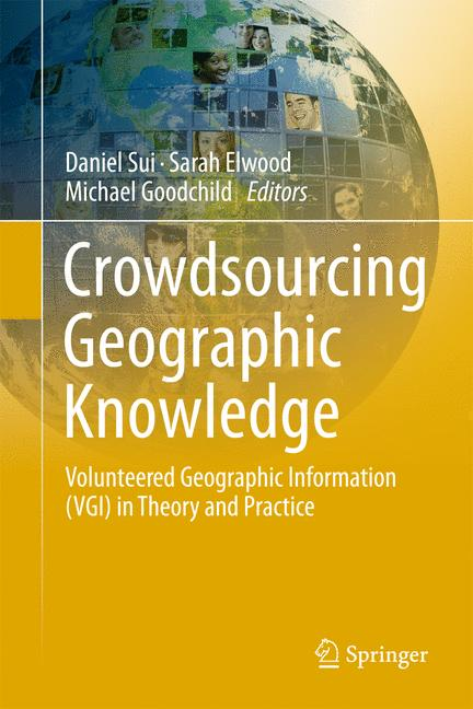 Cover of 'Crowdsourcing Geographic Knowledge'