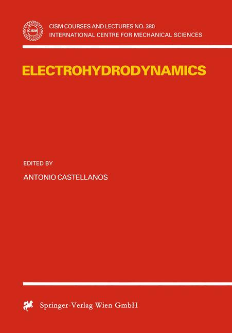 Cover of 'Electrohydrodynamics'