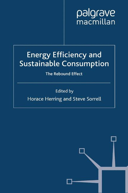 Cover of 'Energy Efficiency and Sustainable Consumption'