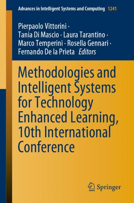 Cover of 'Methodologies and Intelligent Systems for Technology Enhanced Learning, 10th International Conference'