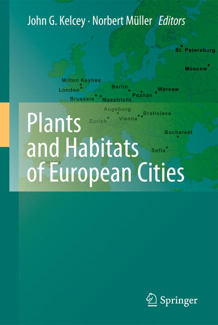 Cover of 'Plants and Habitats of European Cities'