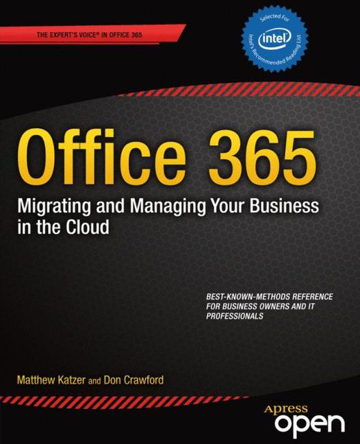 Cover of 'Office 365: Migrating and Managing Your Business in the Cloud'
