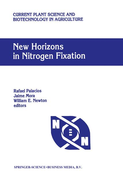 Cover of 'New Horizons in Nitrogen Fixation'