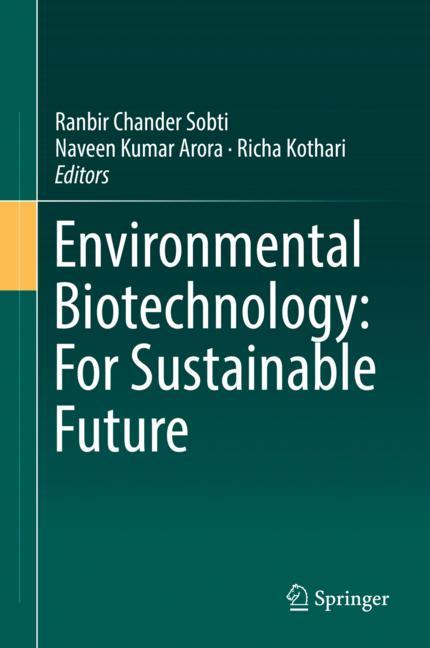 Cover of 'Environmental Biotechnology: For Sustainable Future'