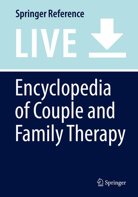 Cover of 'Encyclopedia of Couple and Family Therapy'