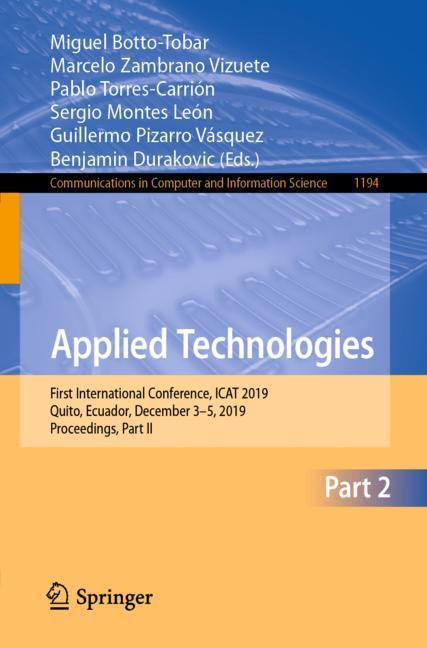 Cover of 'Applied Technologies'