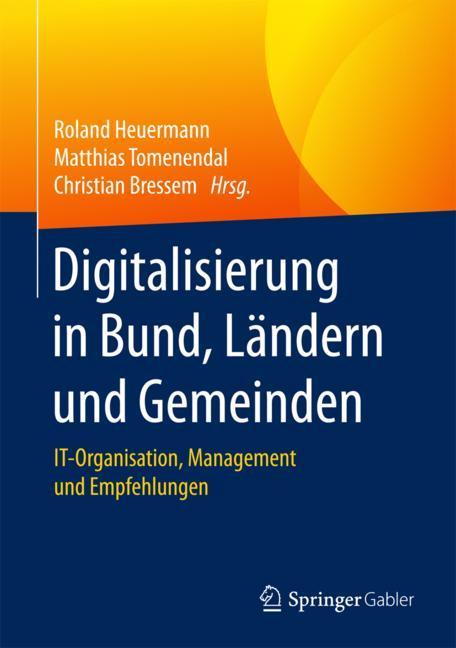 Cover of 'Digitalisierung in Bund, Ländern und Gemeinden'