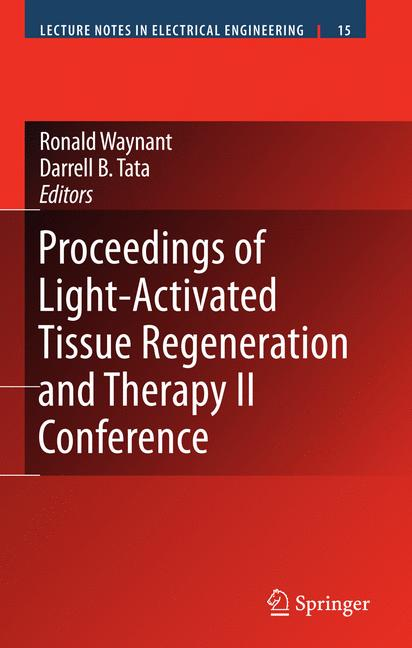 Cover of 'Proceedings of Light-Activated Tissue Regeneration and Therapy Conference'