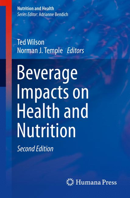 Cover of 'Beverage Impacts on Health and Nutrition'