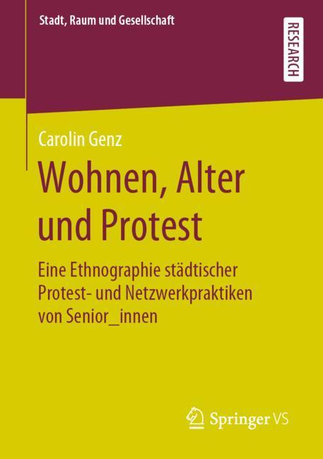 Cover of 'Wohnen, Alter und Protest'