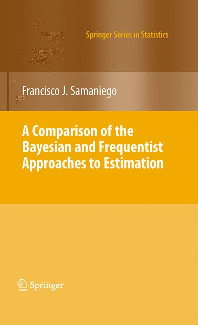 Cover of 'A Comparison of the Bayesian and Frequentist Approaches to Estimation'