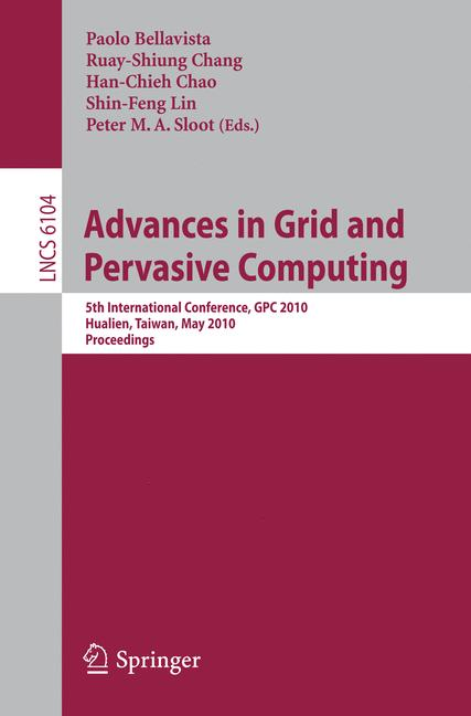 Cover of 'Advances in Grid and Pervasive Computing'