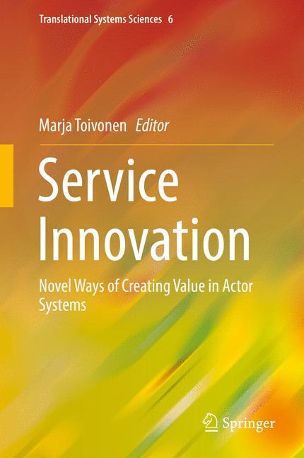 Cover of 'Service Innovation'