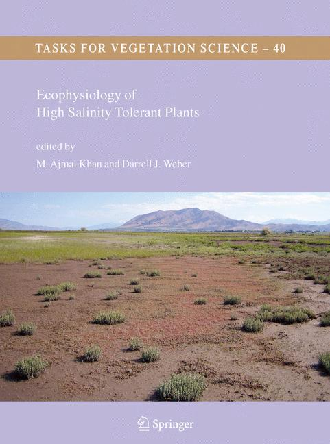 Cover of 'Ecophysiology of High Salinity Tolerant Plants'