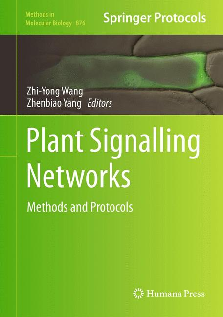 Cover of 'Plant Signalling Networks'
