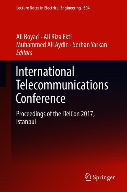 Cover of 'International Telecommunications Conference'