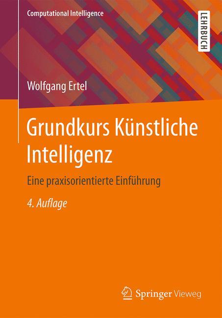 Cover of 'Grundkurs Künstliche Intelligenz'