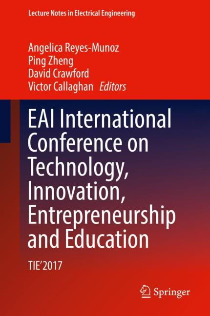 Cover of 'EAI International Conference on Technology, Innovation, Entrepreneurship and Education'
