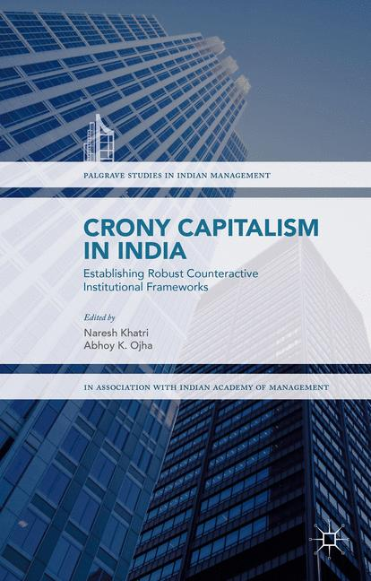 Cover of 'Crony Capitalism in India'