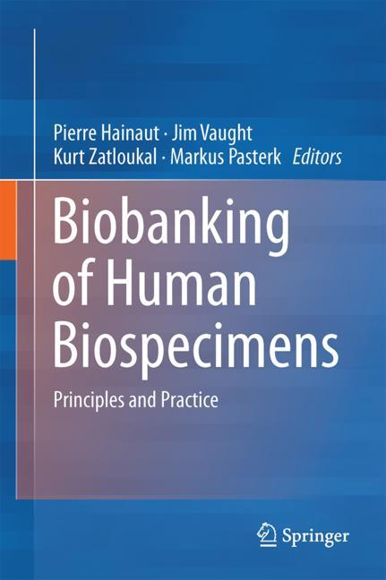 Cover of 'Biobanking of Human Biospecimens'