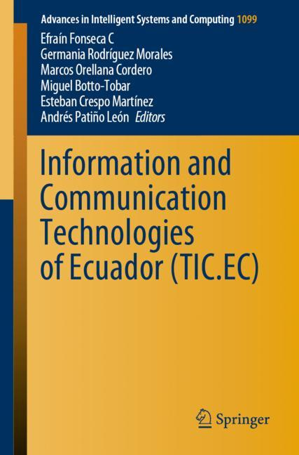 Cover of 'Information and Communication Technologies of Ecuador (TIC.EC)'