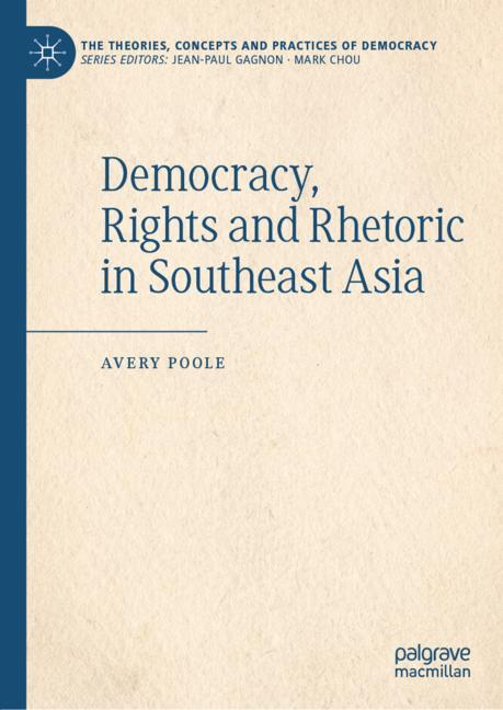 Cover of 'Democracy, Rights and Rhetoric in Southeast Asia'