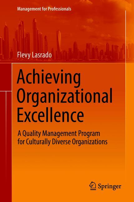 Cover of 'Achieving Organizational Excellence'