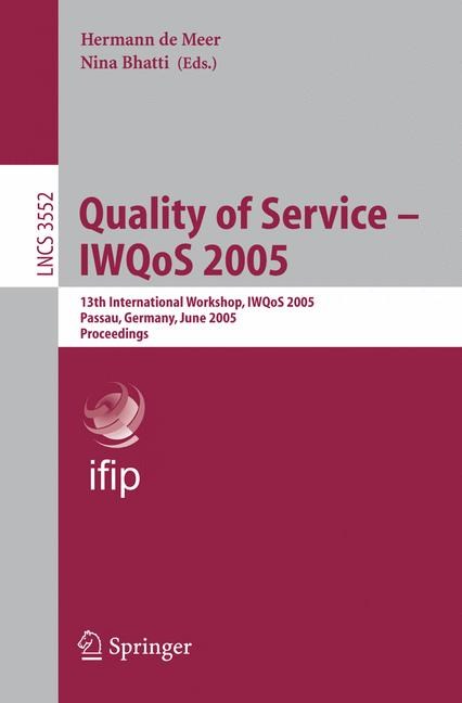 Cover of 'Quality of Service – IWQoS 2005'