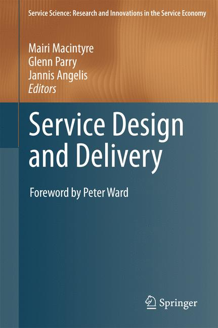 Cover of 'Service Design and Delivery'