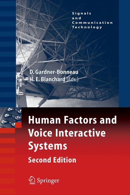 Cover of 'Human Factors and Voice Interactive Systems'