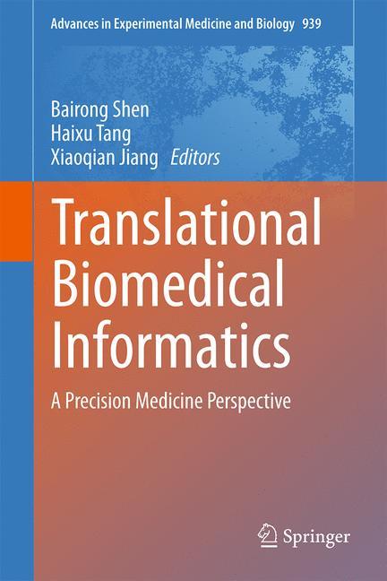 Cover of 'Translational Biomedical Informatics'