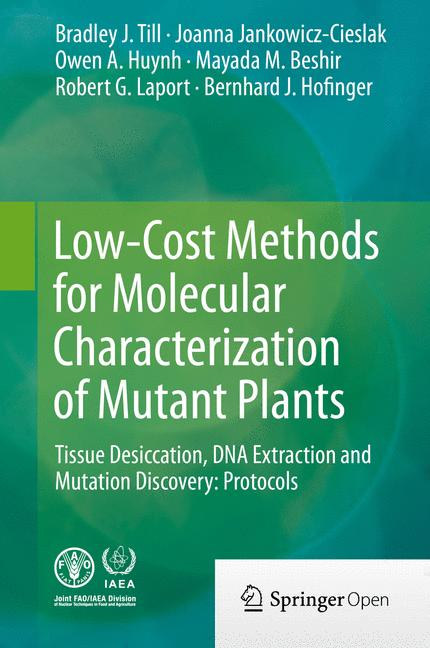 Cover of 'Low-Cost Methods for Molecular Characterization of Mutant Plants'