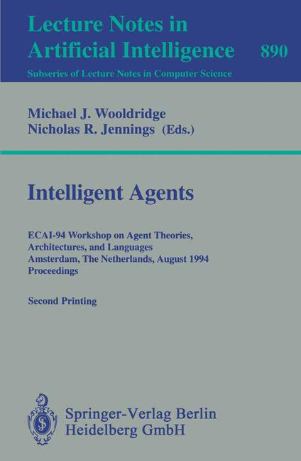Cover of 'Intelligent Agents'