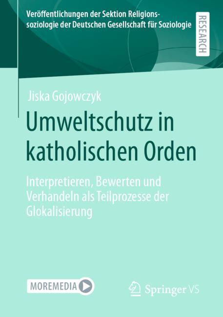 Cover of 'Umweltschutz in katholischen Orden'