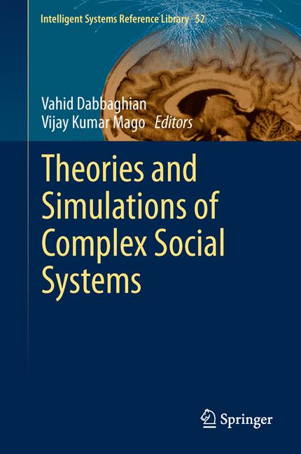 Cover of 'Theories and Simulations of Complex Social Systems'